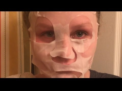 Face mask gives girl a terrible allergic reaction (NOT CLICKBAIT)