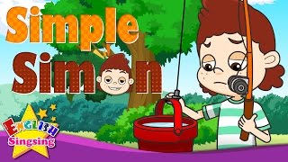 Simple Simon - Nursery Rhymes with Lyrics - English Rhymes for Children