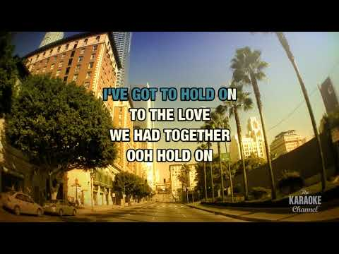 Don't Wanna Lose You in the style of Lionel Richie | Karaoke with Lyrics