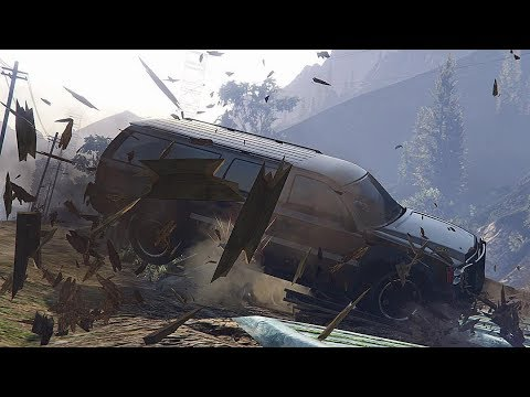 GTA 5 TERRIFYING CAR CRASHES COMPILATION!!! thumbnail