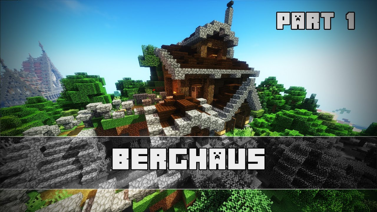 BERG HAUS Bauen | Minecraft Tutorial