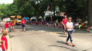 Fourth of July Parade 2015: Greendale, Wisconsin