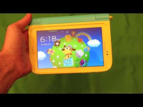 "Samsung Galaxy Tab 3 Kids Edition, Hands-On Review With the 7"" Tablet"