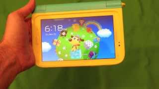 Samsung Galaxy Tab 3 Kids Edition Hands On Review With The 7 Tablet Youtube
