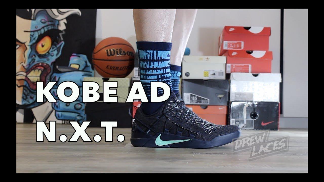 982a8f075a39 Nike Kobe AD NXT Navy Igloo on Feet - YouTube