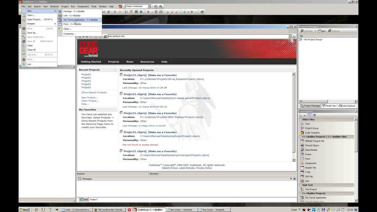 descargar borland c++ builder 6 tutorial