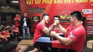 Dương Đức lên ngôi   Giải Vô Địch Vật Tay Phía Bắc Việt Nam năm 2018( Northern VietNam ArmWrestling)