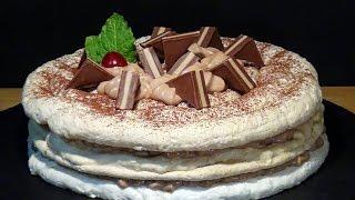 Receta Dacquoise de avellanas y mousse de Nutella – Recetas de cocina, paso a paso, tutorial