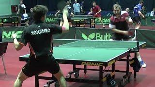 Дмитрий БОБРОВ - Валерий ЗОНЕНКО Настольный теннис, Table Tennis