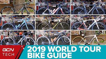 2019 WorldTour Bikes Guide | New Pro Team Bikes