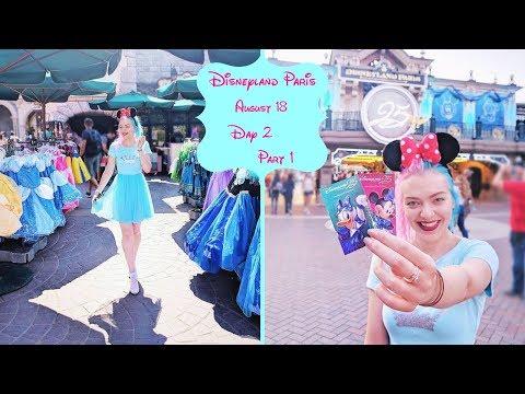 Disneyland Paris Vlog Aug 18  Day 2 Part 1  Walking with Winnie The Pooh!