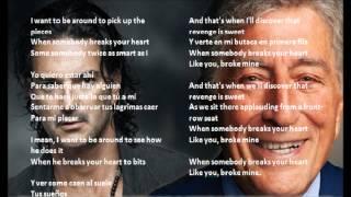 Tony Bennett - I Wanna Be Around ft. Ricardo Arjona (Letra)