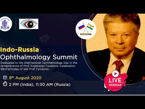 Indo-Russia Ophthalmology Summit