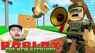 ROBLOX Adventure - ROPO JOINS THE ARMY IN ROBLOX!!!