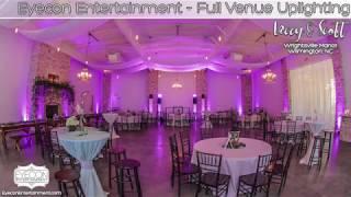 Full Venue Uplighting & Preferred Package - Wrightsville Manor - Eyecon Entertainment