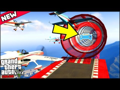 MY PLANE TURNED INTO A CAR AND THEN INTO A BOAT!!   GTA 5 Online New Update (Transformer races)