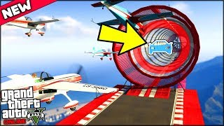 MY PLANE TURNED INTO A CAR AND THEN INTO A BOAT!! | GTA 5 Online New Update (Transformer races)