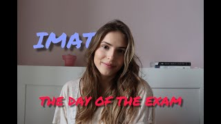 IMAT: the day of the exam | studying medicine in Italy