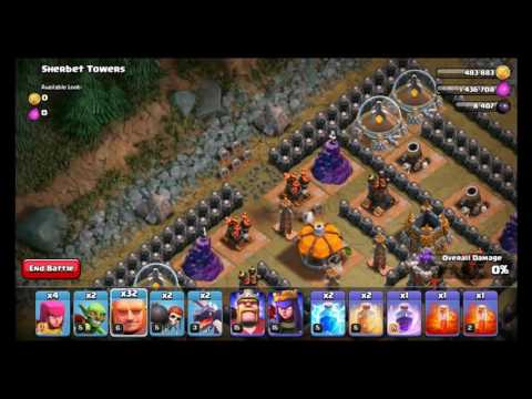 CLASH OF CLANS - SHERBET TOWERS LEVEL 50 *EASIEST WAY*