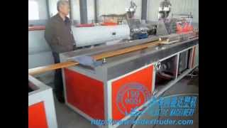 Wood Plastic Floor Production Line| Wpc Floor Extrusion Line