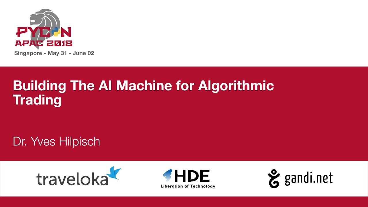 Image from Building the AI machine for algorithmic trading