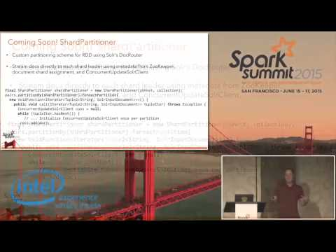 Integrating Apache Spark and Solr
