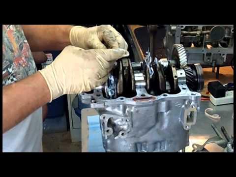Time to tinker 17 EA81 Subaru engine case.wmv