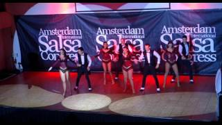 Gil and Shelley's Pexava Dance Co: Projecto Bajari de Yamulee UK at Amsterdam Salsa Congress 2015
