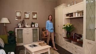 Гостиная из коллекции ''Кантри'' от мебельной компании ''Ангстрем''