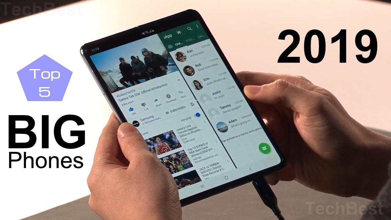 Best Phablets For 2019 Top 5 Biggest Phablets   Best BIG Phones of 2019   YouTube