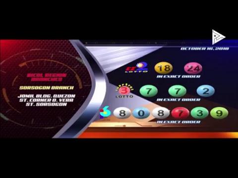 [LIVE] PCSO Lotto Draws  -  October 16, 2018  9:00PM