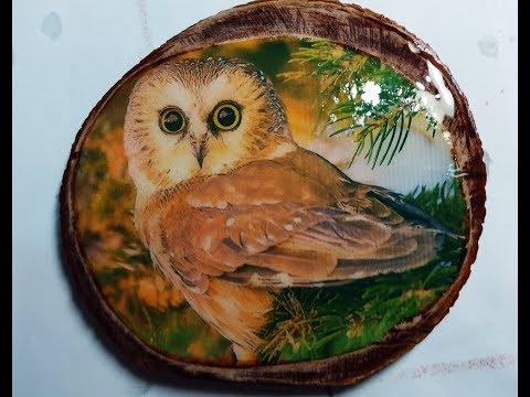 Перенос фото с фотобумаги на дерево и фанеру