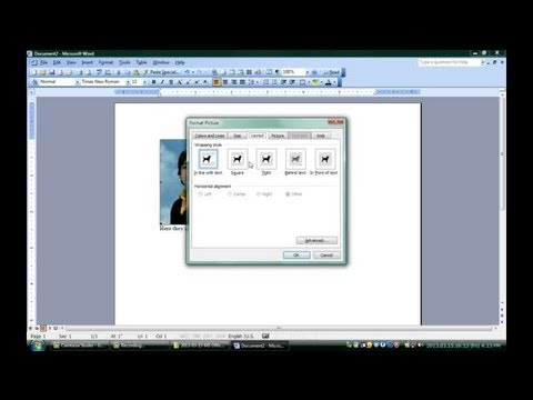 How To Put Words In Top Of Pictures Using Microsoft Word Microsoft