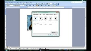 How to Put Words in Top of Pictures Using Microsoft Word : Microsoft Word & Excel
