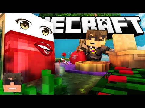 Minecraft BED WARS! | SKY GETS DIAMONDS!!?!! (Minecraft Bed Wars Minigame)