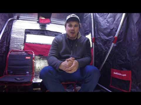 Eskimo Sierra 2-man Flipover Ice Shack 1-Year Review Update