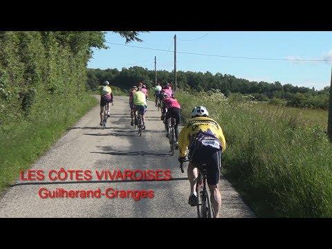 Les Cotes Vivaroises en vélo