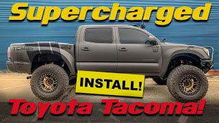 PART 1/2 | TOYOTA TACOMA 4.0L V6 SUPERCHARGER SYSTEM INSTALLATION