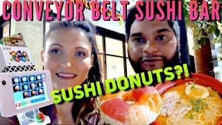 Sushi Buffet Conveyor Belt Sushi Bar in Houston! (Kura USA)