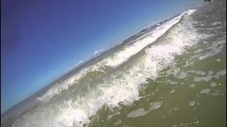 Have a nice holiday! Pattaya. Sea waves.