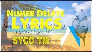 Number Delete Deep Money Lyrics Syco TM