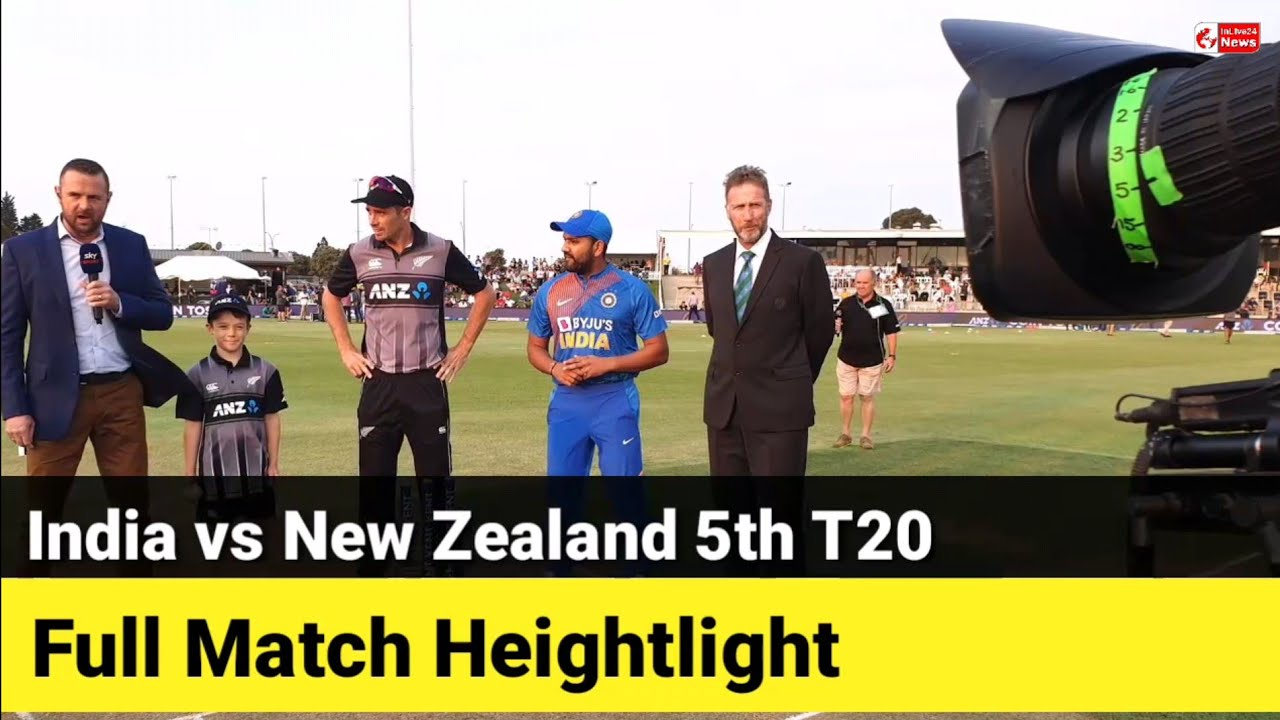 5th T20I: India create history, seal 5-0 series win as nervous New ...