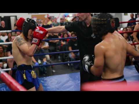 Norman Chan YMT vs Kirby Castillon Milton @ Ajahn Suchart's Birthday Exhibitions