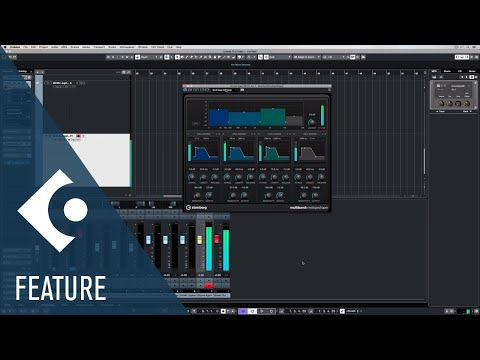 Multiband Envelope Shaper | Effects and Plug-ins Included in Cubase