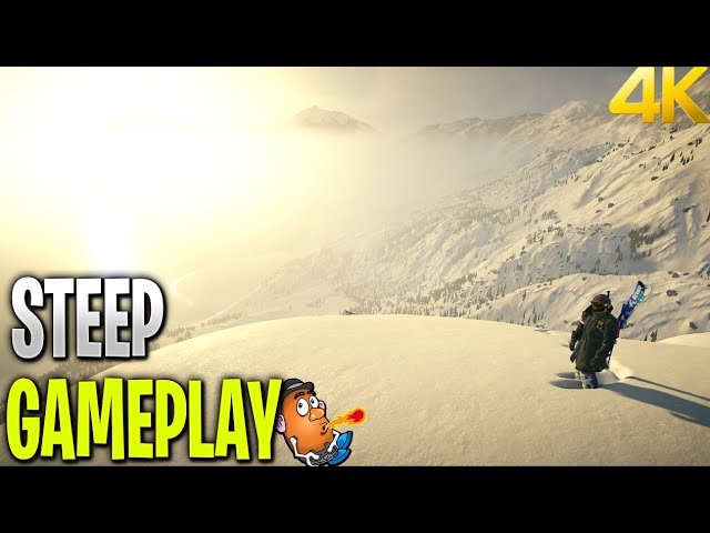 Sliding about the Slopes | Steep | Xbox One X 4K Gameplay