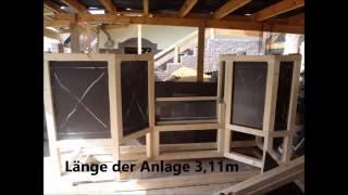 Mein 1400 Liter Diskusbecken 1, Holzaquarium Bauanleitung