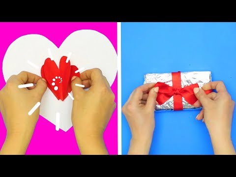 10 EASY DIY GIFT WRAPPING AND CARD IDEAS Creative Gift Wrapping and Card Ideas