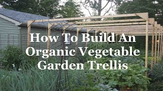 Organic Vegetable Garden Trellis