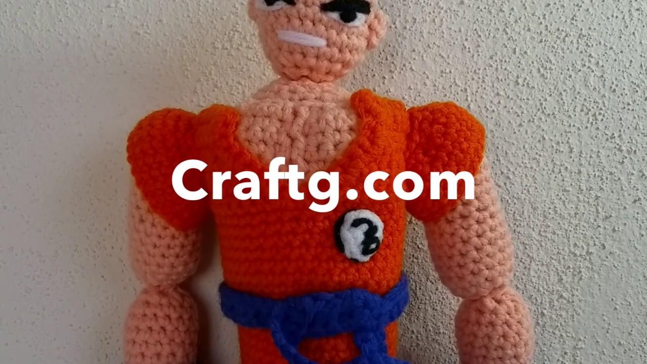 Son Goku (Dragon Ball) Amigurumi Pattern - Sueños Blanditos | 720x1280