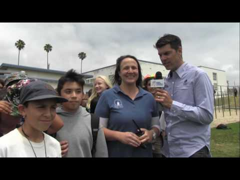 Rolling With The Tour: Cabrillo Middle School